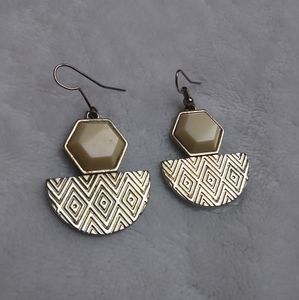 Women's Tribal/Aztec Printed Earrings